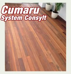 Aktion - Holzterrasse Cumaru - Tonka Nuß BRAZIL Short System CONSYLT